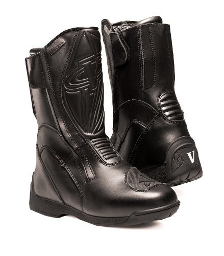 touring women s motorcycle boots black size 8